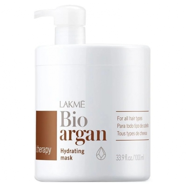 Маска Lakme K.Therapy Bioargan Hydrating 1000 мл