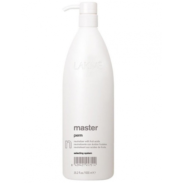 "Нейтрализатор Lakme Master Perm Selecting System ""N"" 1000 ml"