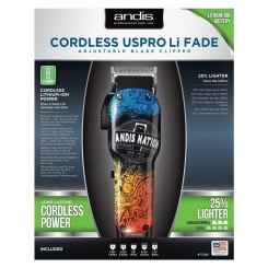 Andis LCL Cordless USPro Li Fade Nation - Упаковка