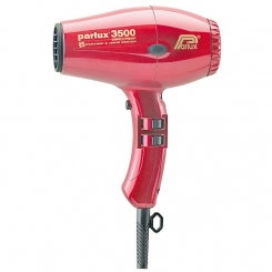 Parlux 3500 Supercompact Ceramic Ionic Red
