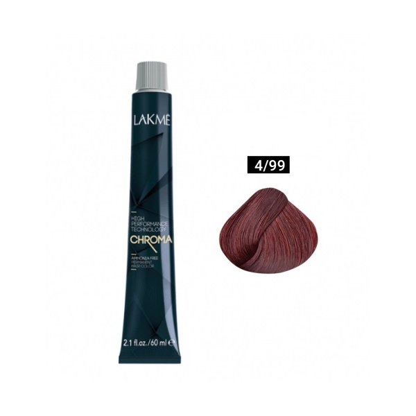 Краска Lakme Chroma 4/99 60 ml